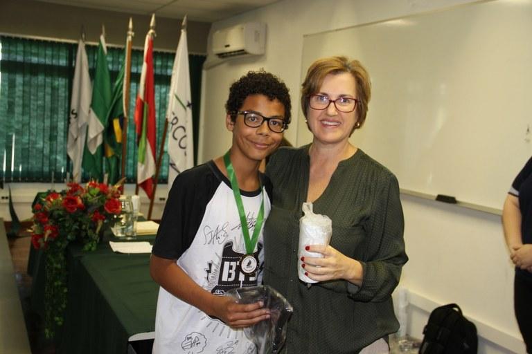 Estudantes são premiados na I Olimpíada de Matemática do Oeste Catarinense