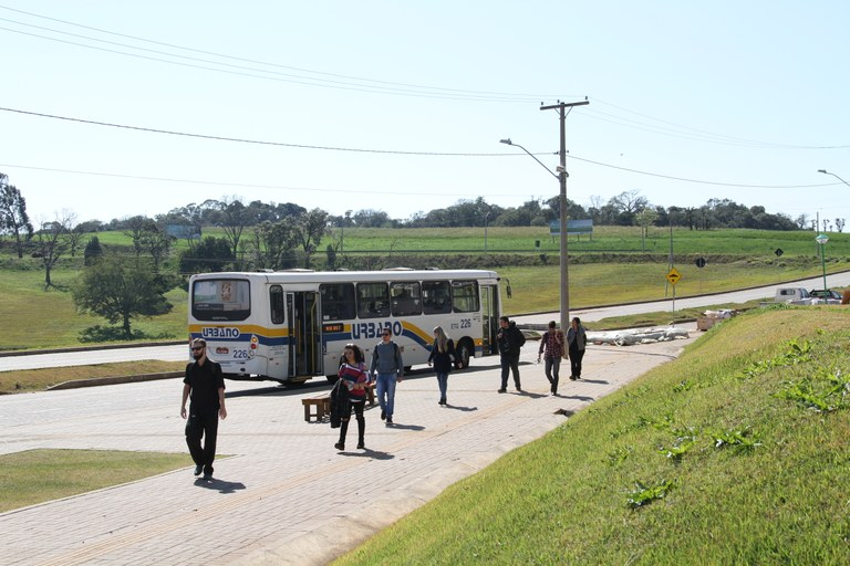 parada ônibus