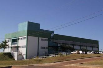 Estrutura de prédios do Campus Realeza.
