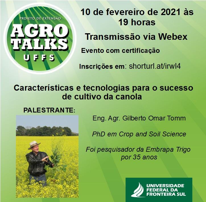 Agro Talks UFFS - 10/02