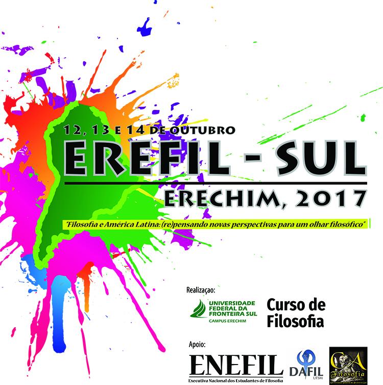 8º Encontro Regional de Estudantes de Filosofia (EREFIL) – Região Sul