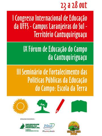 I Congresso Internacional de Educação da UFFS – Campus Laranjeiras do Sul