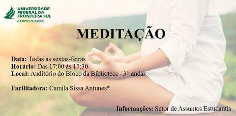 Oficina de Meditação