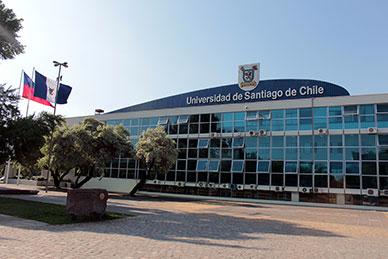 Fachada da Universidade del Chile