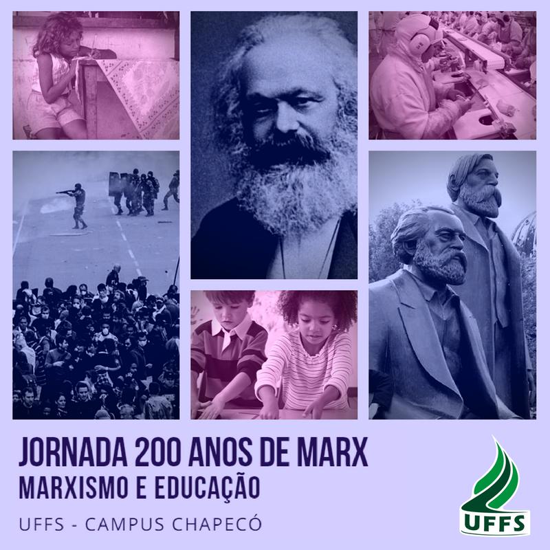 Jornadas 200 anos de Karl Marx
